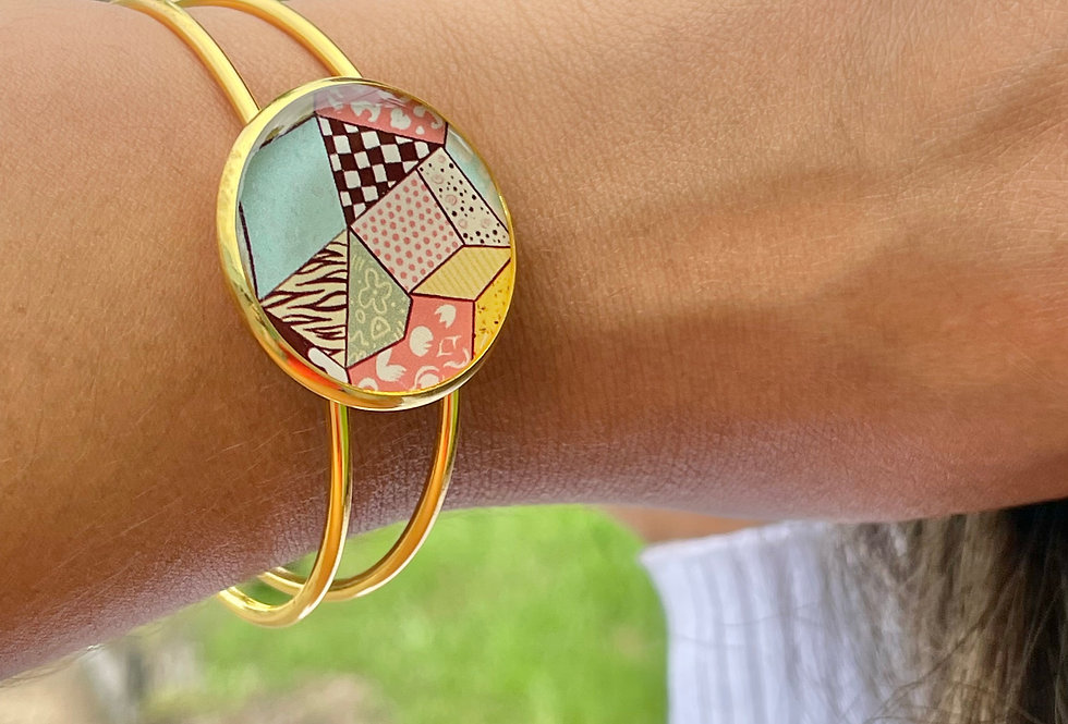 Quilted Bangle