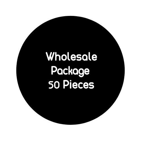 Wholesale Package: 50 pieces