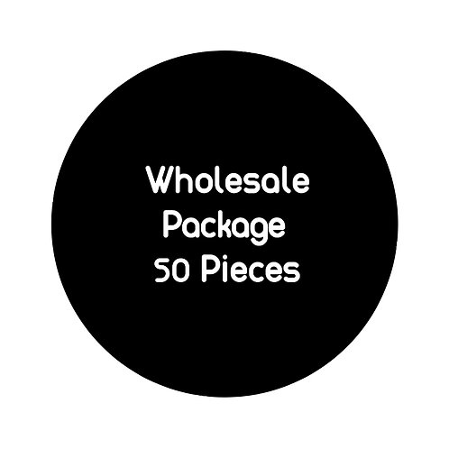 Wholesale Package: 50 pieces
