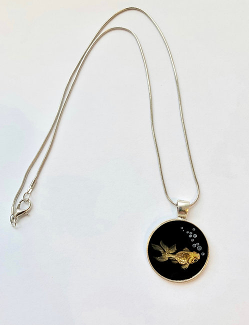 Pond Series: Goldfish Necklace