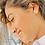 Thumbnail: Orange Shell Stud Earrings
