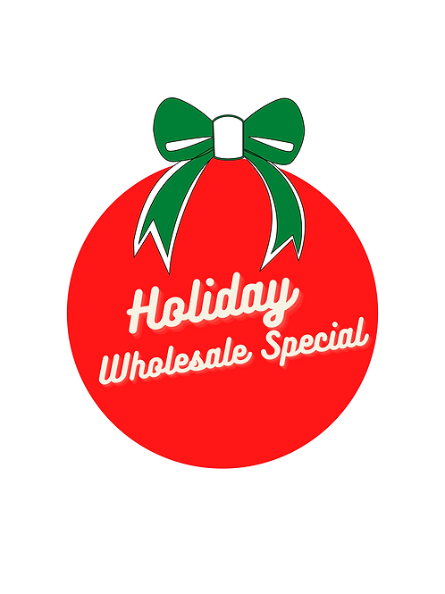 Holiday Special for Wholesale Artists