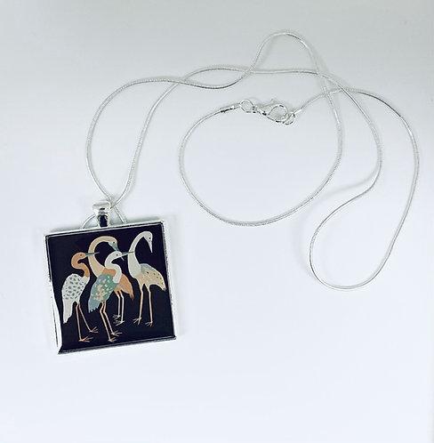 FL Cranes Necklace