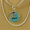 Thumbnail: Miami Map Charm Layered Necklace