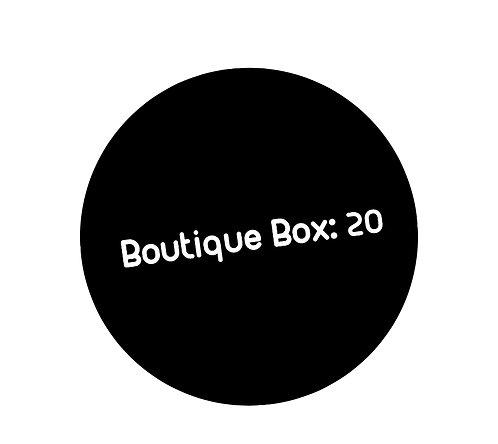 Boutique Box: 20