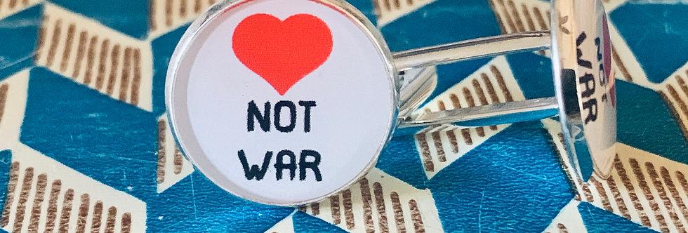 Love Not War Cuff Links