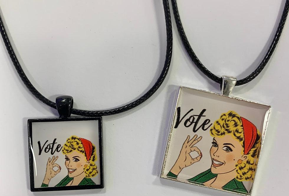 Women Vote Necklace