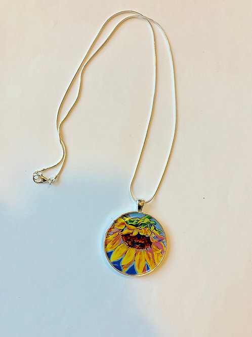 Sunflower Bliss Necklace:  Sally C. Evans Collection