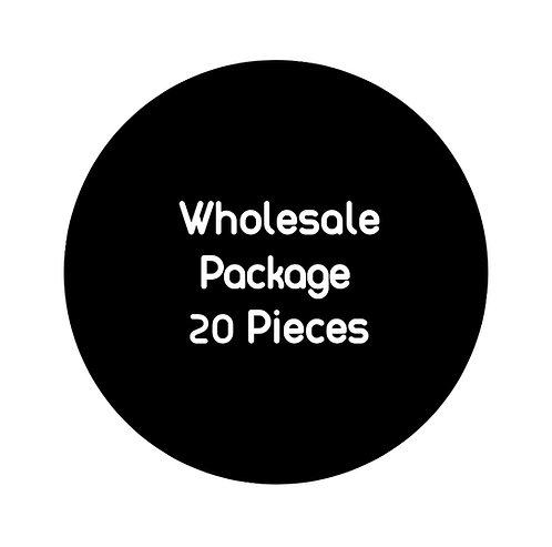 Wholesale Package: 20 pieces