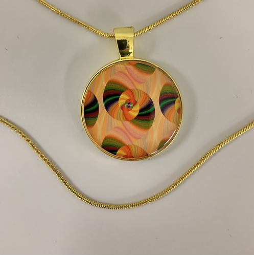 Psychedelic Layerd Necklace