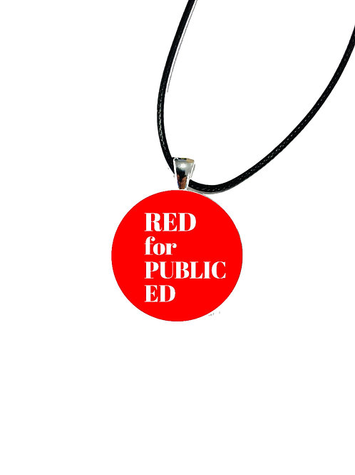 Red for Ed Necklace