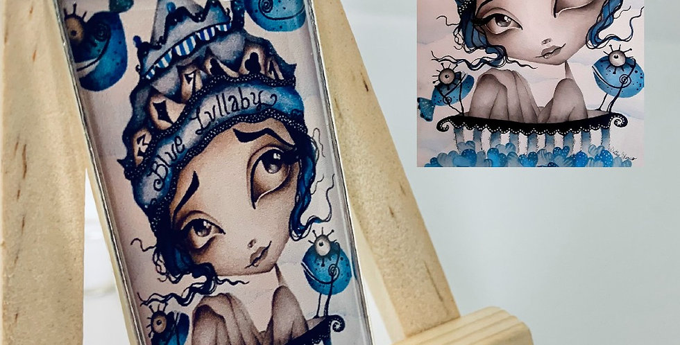 Blue Lullaby Necklace by Dottie Gleason