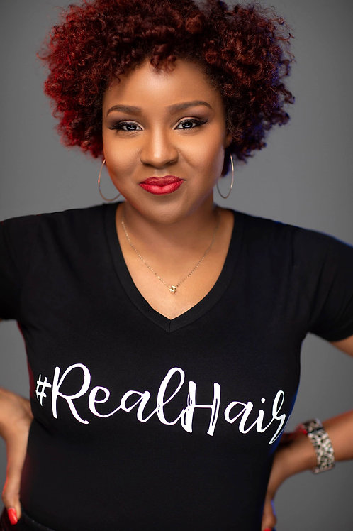 #REALHAIR T-SHIRTS