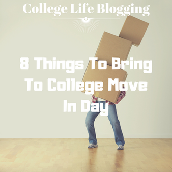 8 Things To Bring To Survive College Move-In Day