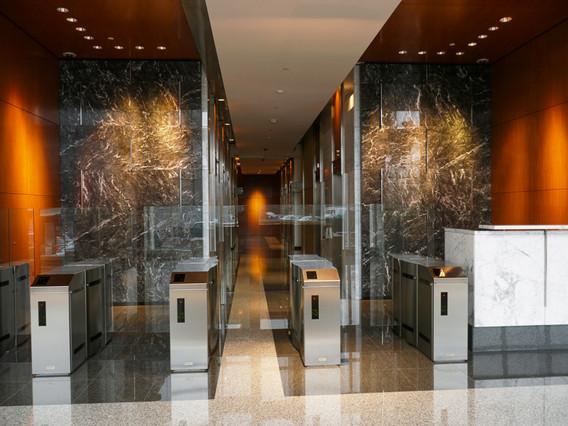 Duke Energy Elevator Lobby