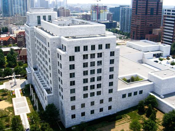 Federal Reserve Building Aerial