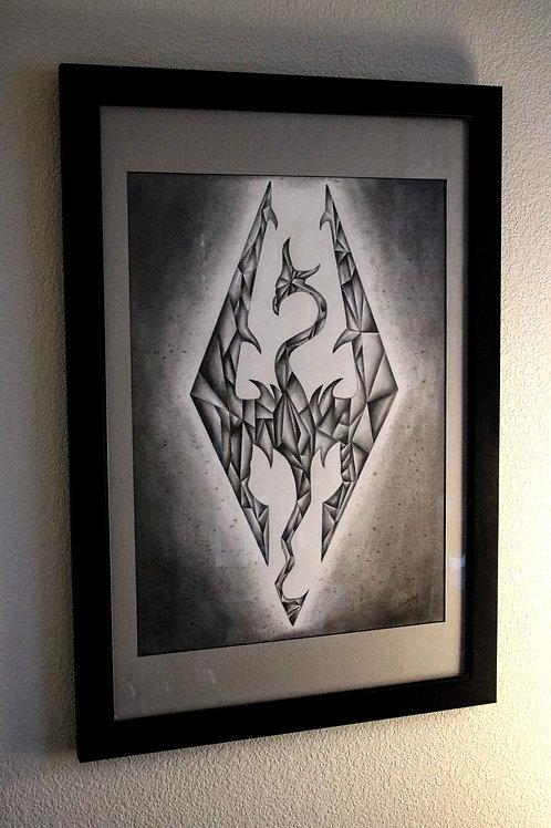 """""""For The Empire"""" Original Artwork"""