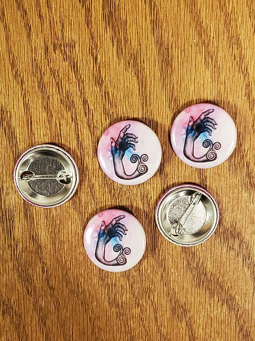 Hand Art Pin