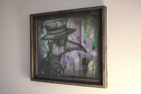 """""""Doctors Visit"""" Original Artwork"""