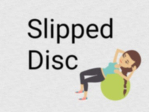 Treat  slipped disc with Yoga, yoga techniques for preventing and healing the slipped disc condition