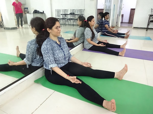 Nishpandabhava Relaxation Technique