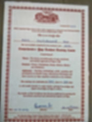 Yoga trainer certificate 900hours
