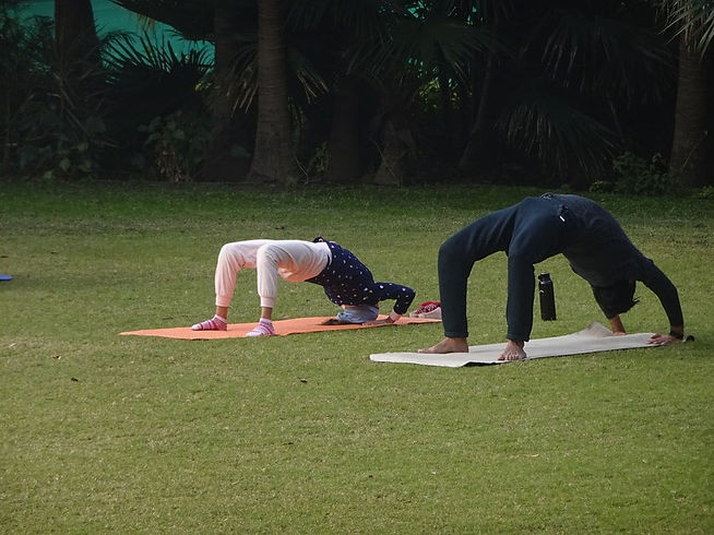 Hypertension yoga camp near me