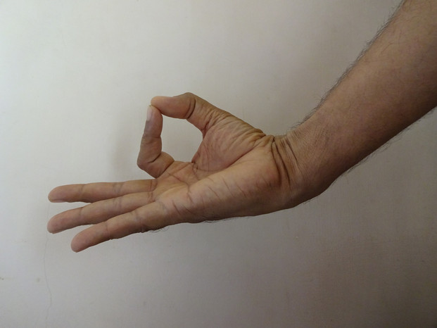 Jnana mudra, Chin mudra,  Yoga mudra meditation