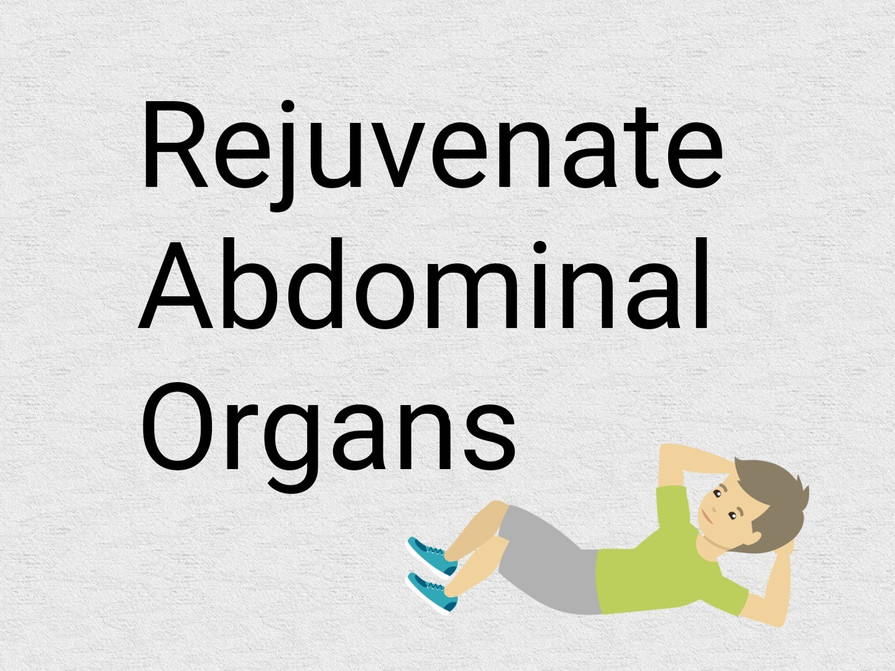 How to keep the abdominal organs healthy with Yoga