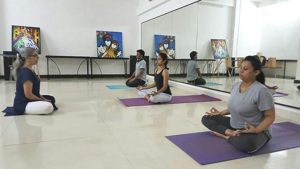Doing Pranayama breathing the right way