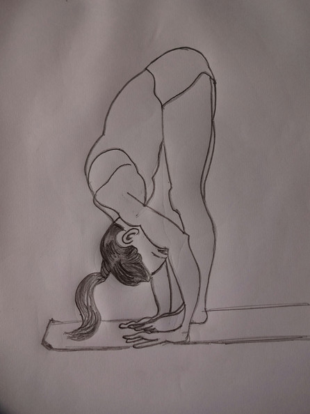 Intense forward bend