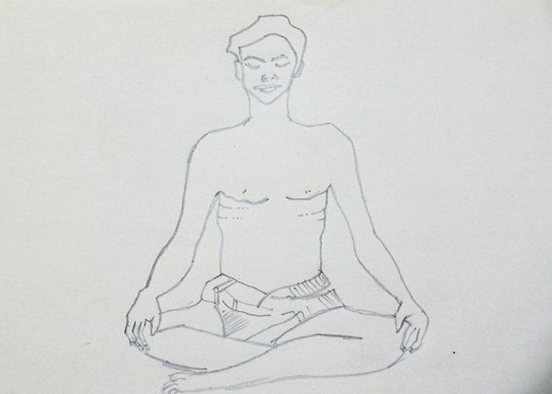Sukhasana procedure
