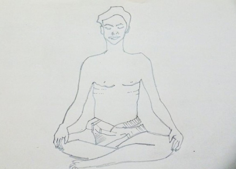 Sukhasana procedure