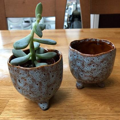 St Tropez small blue plant pot