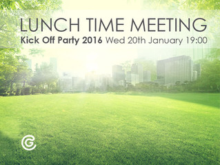 Lunch Time Meeting Kick off Party 2016