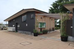 横浜市今井の丘公園便所・倉庫棟1