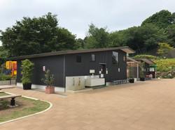 横浜市今井の丘公園便所・倉庫棟3