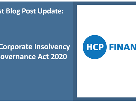 The Corporate Insolvency & Governance Act 2020 came into force on 26th  June2020.