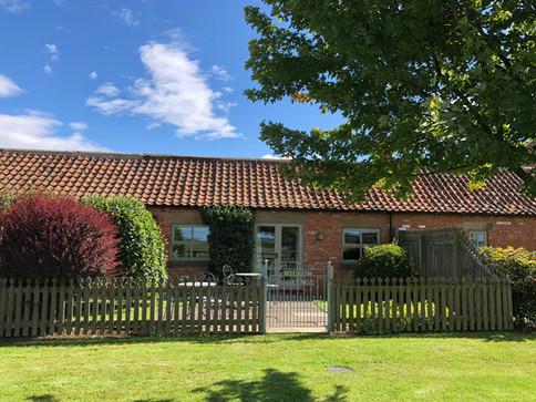 Willow Cottage back garden