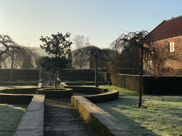 Frosty morning at Stainers Farm