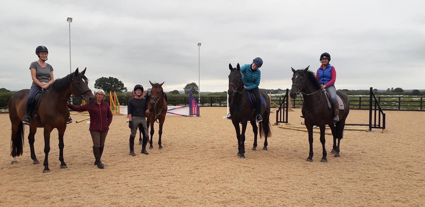 North Ryedale Riding Club enjoying the arena