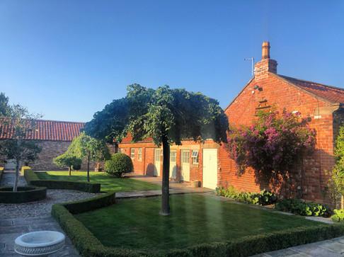 Cottage courtyard
