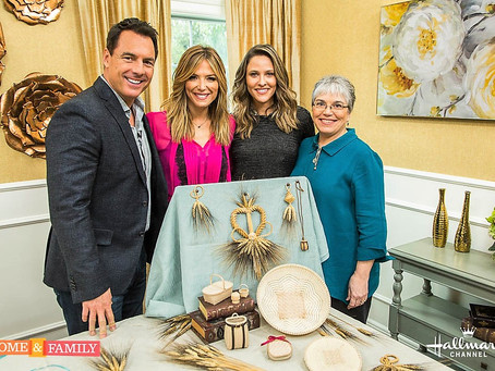 JoAnn is on Home & Family tv show