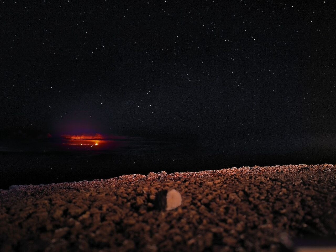 Lava and Stars