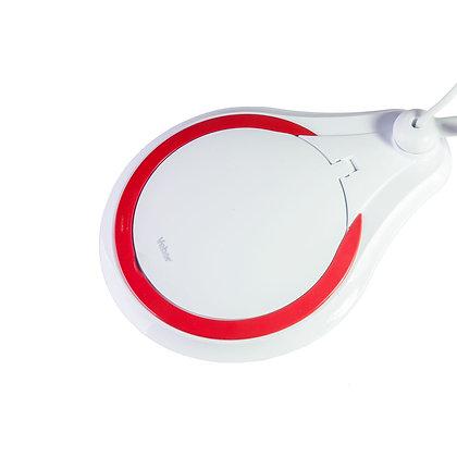 Лупа 8608D 5D (5 дптр, 127 мм) на струбцине с подсветкой LED