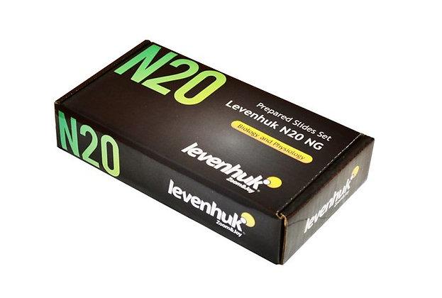 Набор готовых микропрепаратов Levenhuk N20 NG
