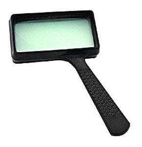 Лупа Kromatech ручная прямоугольная 3x, 100x50 мм, черная