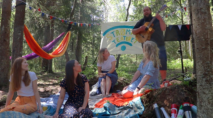 Sangstund i skogen med StrømmeTeateret og Jon Erik Myre