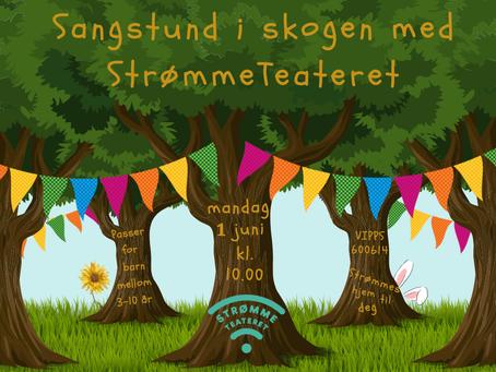 Sangstund i skogen!