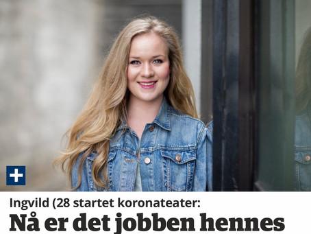 Les om Ingvild Lunde og StrømmeTeateret i Haugesunds avis!